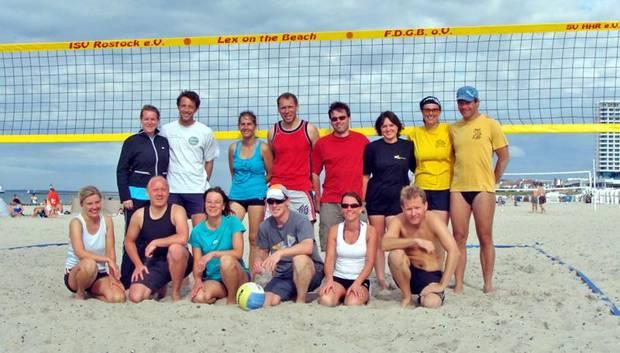 1. Vereinsübergreifende Mixed-Beachvolleyball-Turnier 2010